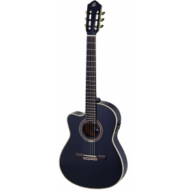 Guitarra Ortega RCE138-4BK-L Feel Series Zurdos