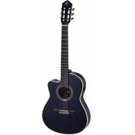 Guitarra Ortega RCE138-4BK-L Feel Series Zurdos