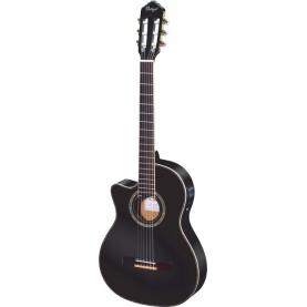Guitarra Ortega RCE145LBK Serie Theatre Zurdos