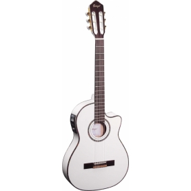 Guitarra Ortega RCE145WH Serie Theatre
