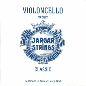 Cuerda Sol Cello Jargar Classic Medium Plata