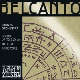 Cuerdas Contrabajo Thomastik Belcanto Orquesta