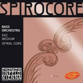 Cuerdas Contrabajo Thomastik Spirocore Orquesta