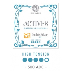 Cuerdas Knobloch Actives Double Silver CX 500ADC Alta