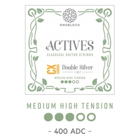 Cuerdas Knobloch Actives Double Silver CX 500ADC Medio - Alta