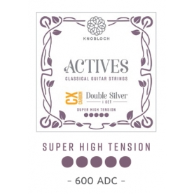 Cuerdas Knobloch Actives Double Silver CX 600ADC Super Alta