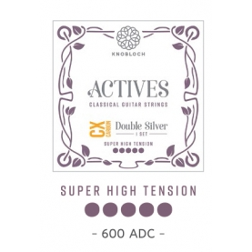 Cuerdas Knobloch Actives Double Silver QZ 600ADQ Super Alta