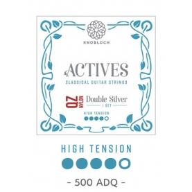 Cuerdas Knobloch Actives Double Silver QZ 500ADQ Alta