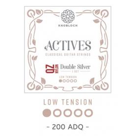 Cuerdas Knobloch Actives Double Silver QZ 200ADQ Baja