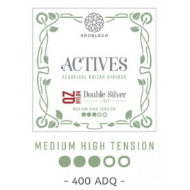 Cuerdas Knobloch Actives Double Silver QZ 400ADQ Medio - Alta