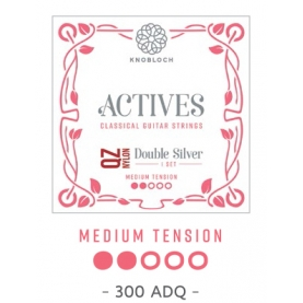 Cuerdas Knobloch Actives Double Silver QZ 300ADQ Media