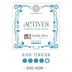 Cuerdas Knobloch Actives Double Silver SN 500ADN Alta