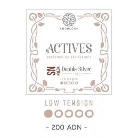 Cuerdas Knobloch Actives Double Silver SN 300ADN Baja
