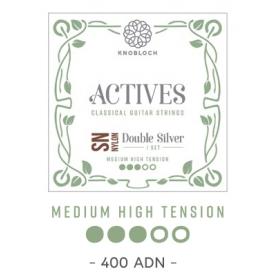 Cuerdas Knobloch Actives Double Silver SN 400ADN Media Alta