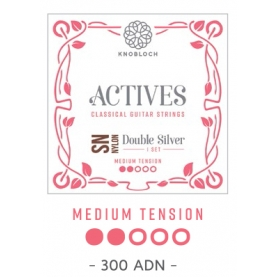Cuerdas Knobloch Actives Double Silver SN 300ADN Media