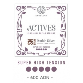 Cuerdas Knobloch Actives Double Silver SN 600ADN Super Alta