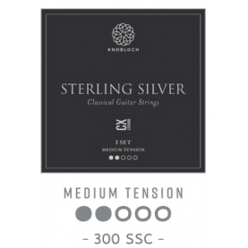 Cuerdas Knobloch Actives Sterling Silver Carbon CX 300SSC Media
