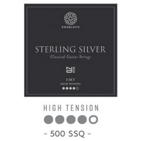 Cuerdas Knobloch Actives Sterling Silver Nylon QZ 500SSQ Alta
