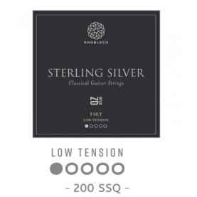 Cuerdas Knobloch Actives Sterling Silver Nylon QZ 200SSQ Baja
