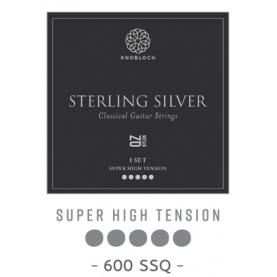 Cuerdas Knobloch Active Sterling Silver Carbon CX 600SSC Super Alta