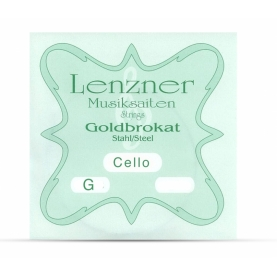 Cuerdas Cello Lenzner Goldbrokat SOL