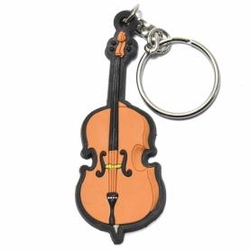 Llavero violonchelo goma