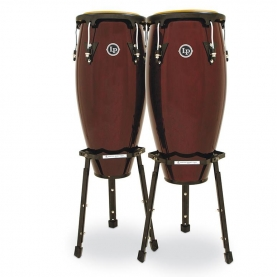 "Set Congas LP Aspire 10"" & 11"" Dark Wood"
