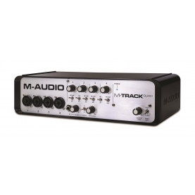 ​Interface Audio M-Audio M-Track Quad Midi Usb 4 Canales