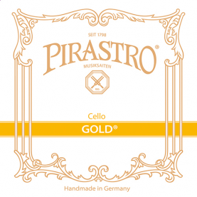 Cuerdas Cello Pirastro Gold