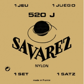 Cuerdas Savarez 520J Carta Roja