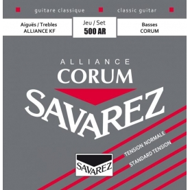 Cuerdas Savarez 500AR Corum Alliance Roja