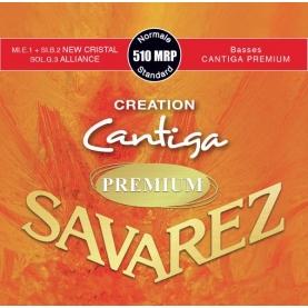 Cuerdas Savarez 510MRP Creation Cantiga Premium Roja