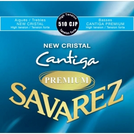 Cuerdas Savarez 510CJP New Cristal Cantiga Premium Azul