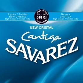 Cuerdas Savarez 510CJ New Cristal Cantiga