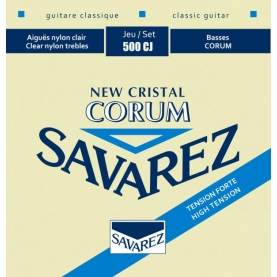 Cuerdas Savarez 500CJ New Crystal Corum
