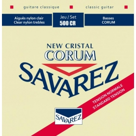 Cuerdas Savarez 500CR New Crystal Corum