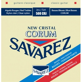Cuerdas Savarez 500CRJ New Crystal Corum