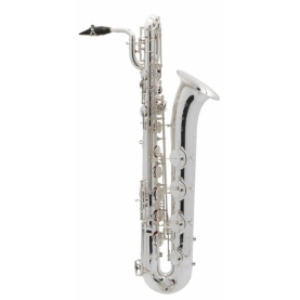 Saxofon Baritono Selmer Jubile Serie III Plateado Grabado