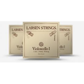 Juego Cuerdas Cello Larsen Original Medium