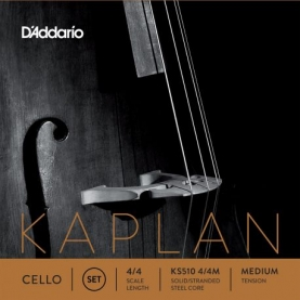 Set de Cuerdas Cello D'addario Kaplan KS510 4/4M