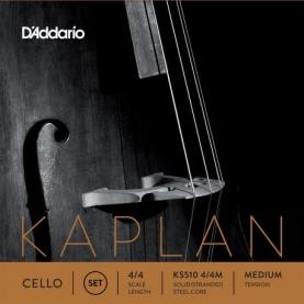 Set de Cuerdas Cello D'addario Kaplan KS510 4/4M