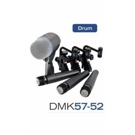 Pack Microfonos Shure DMK57-52