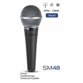 Microfono Shure SM48 LC