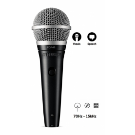 Microfono Shure PGA48 QTR