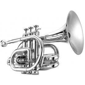 Trompeta Pocket Jupiter JTR-516 Plateada