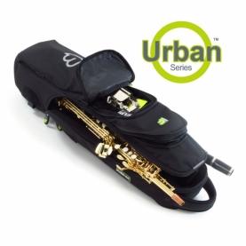 Funda Saxofon Soprano Fusion Urban Negra