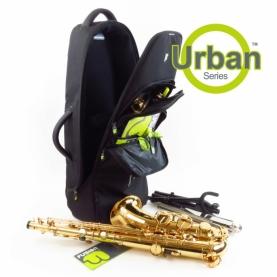 Funda Saxofon Tenor Fusion Urban Negra