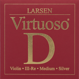 Cuerda Violin Larsen Virtuoso Plata Forte