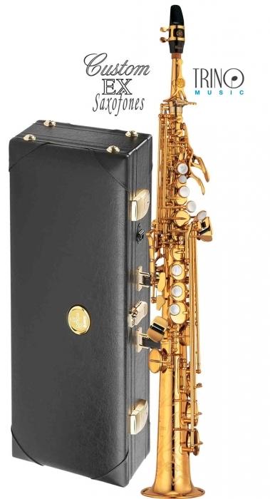 Saxofon soprano yamaha yss 875ex trino music for Yamaha yss 875ex